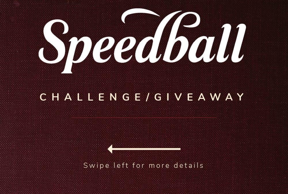 #SpeedballTextBookChallenge winners and Best entries.