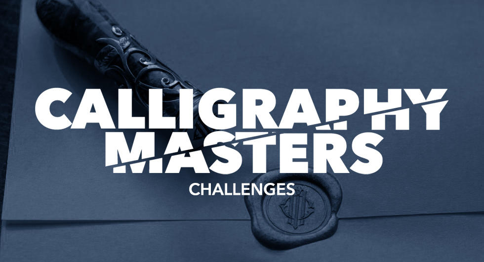 calligraphy masters challenges